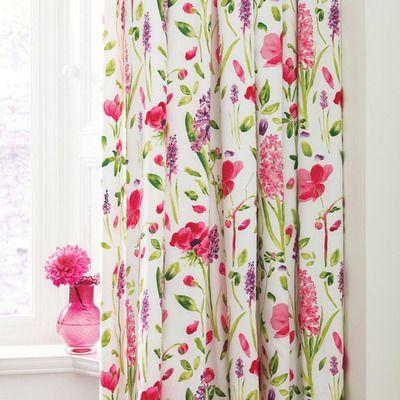 Sanderson Spring Flowers Curtains