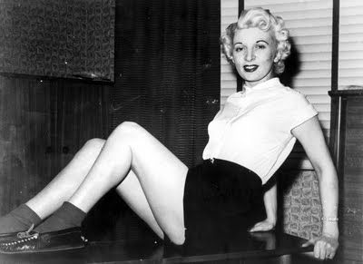 July 13, 1955 - Ruth Ellis, the last woman hanged in England http://www.executedtoday.com/2013/07/13/1955-ruth-ellis