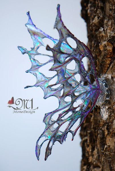 Fairy Wings, wire and iridescent fabric, why would these be hard?