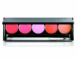 SLA Luxury palette 5 lipsticks