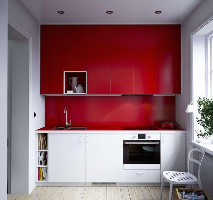 Aneks kuchenny w małym mieszkaniu