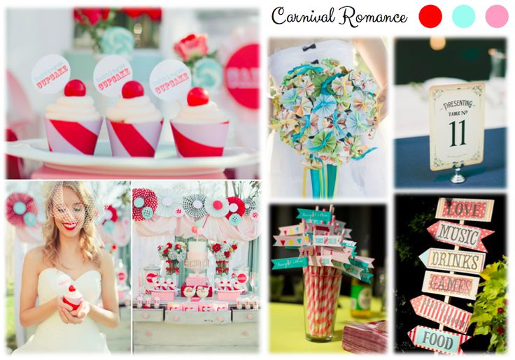 Inspiration Board: Carnival Colors on www.easy-wedding.ch