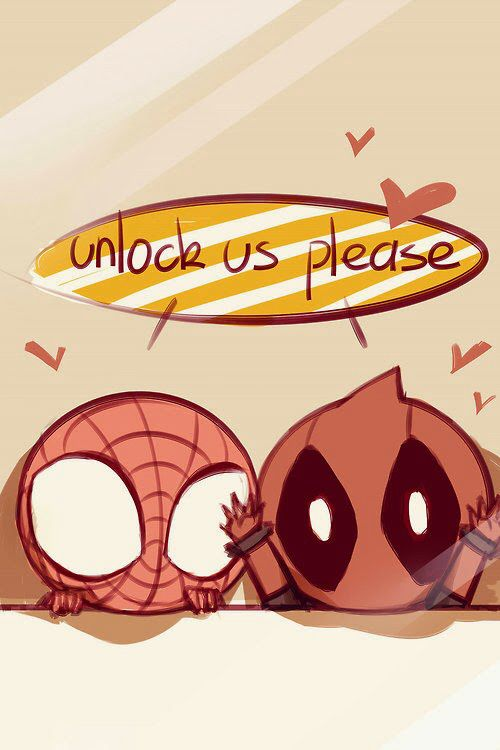 A SpiderPool lock screen background. Source : unknown