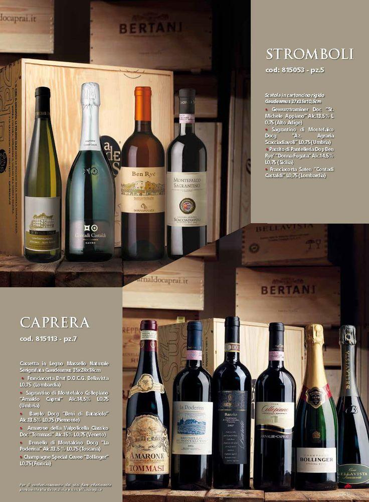Eleganti Casse di Vino, idee regalo per questo Natale http://blog.clickufficio.it/cesti-e-pacchi-aziendali-idee-regalo-per-natale/