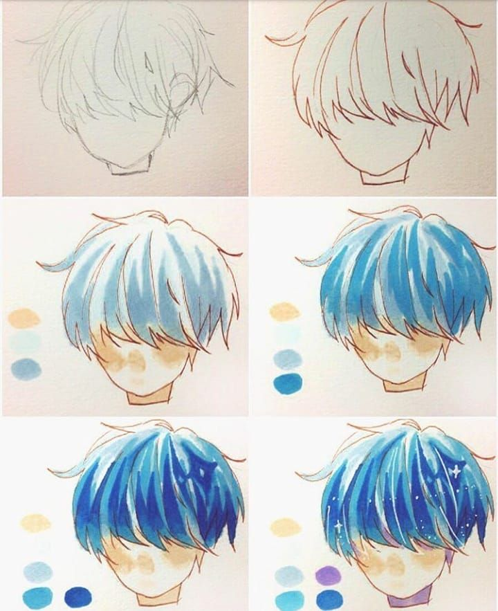 How To Draw Manga Comics On Instagram I Ve Always Loved The Look Of Watercolors And Markers But Cou Anime Art Tutorial Anime Sketch Manga Drawing Tutorials
