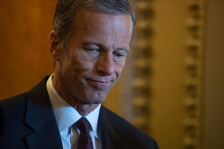 "South Dakota senator John Thune, who said in an interview with NBC News that, given the fact that there's no way to stop a mass shooting from happening in an ""open society,"" citizens' best hope to avoid being violently killed is to … duck. ""I think people are going to have to take steps in their own lives to take precautions to protect themselves. And in situations like that, you know, try to stay safe. As somebody said — get small."""