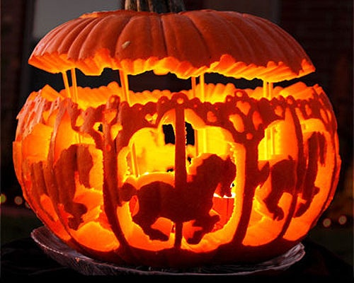 •❈• 35 Amazing pumpkin creations, wouldn't it be great to make something like this?