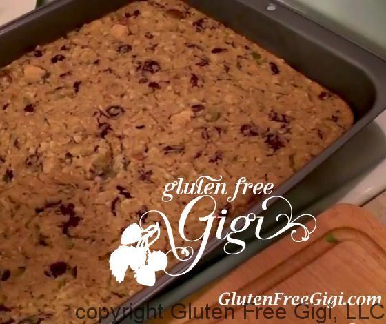 Cornbread & Biscuit Pan Dressing -- #GlutenFree