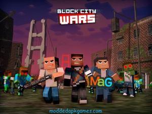Download Block City Wars Unlimited Money 6.2.5 Mod Apk Latest Version Android #moddedapkgames