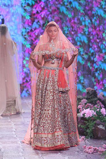 Jyotsna Tiwari - BMW India Bridal Fashion Week 2015