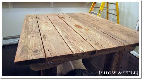 {how to weather new wood}