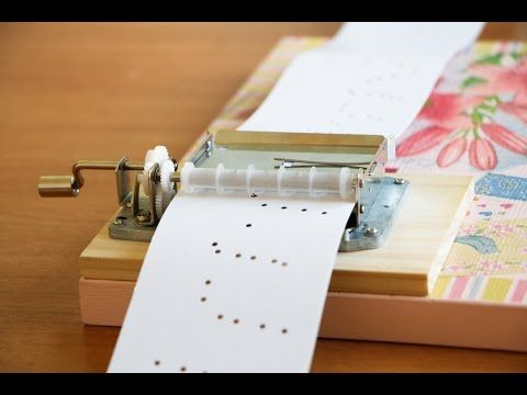 DIY Music Box. Notre Dame de Paris. Le temps des cathédrales - YouTube