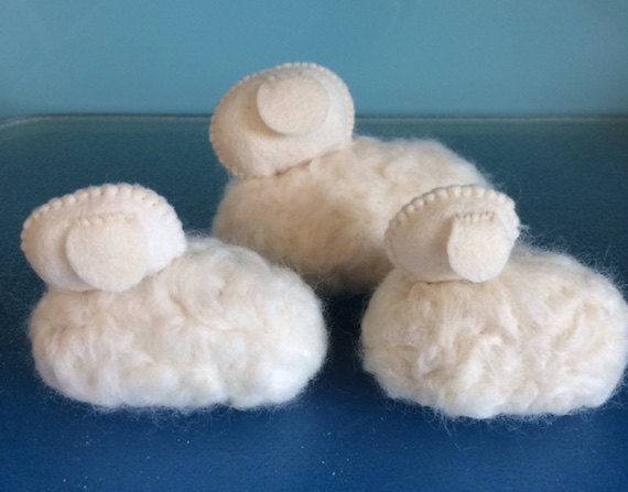 Hey, I found this really awesome Etsy listing at https://www.etsy.com/listing/253399973/diy-kit-flock-of-3-sheep-3-woolly