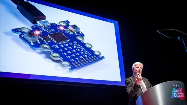 The Micro Bit - can it make us digital? - Source - BBC News - © 2014 BBC #MicroBit #Tech