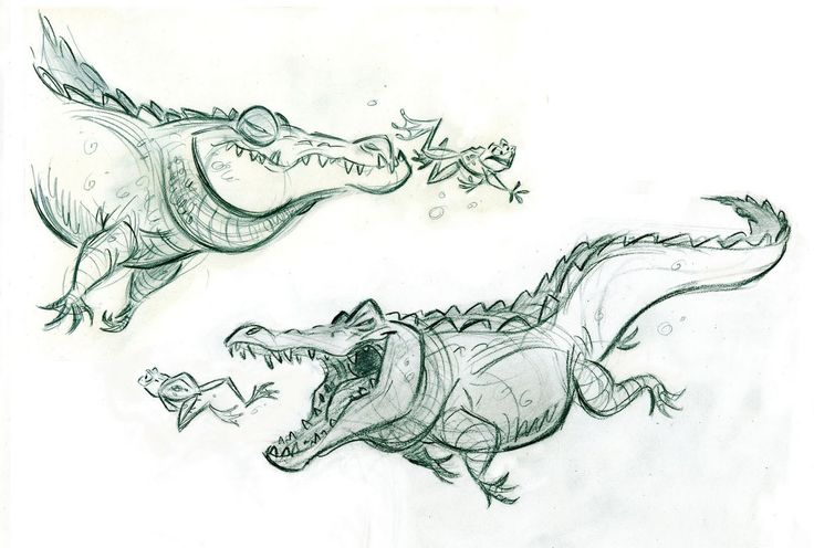illustration, animal, reptile, crocodile, alligator, frog. http://billschwabdesign.blogspot.com.br