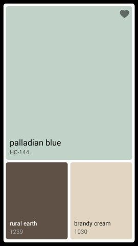 Laundry room color Palladian Blue                                                                                                                                                                                 More