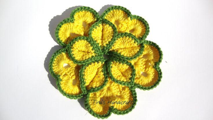 flower motifs square