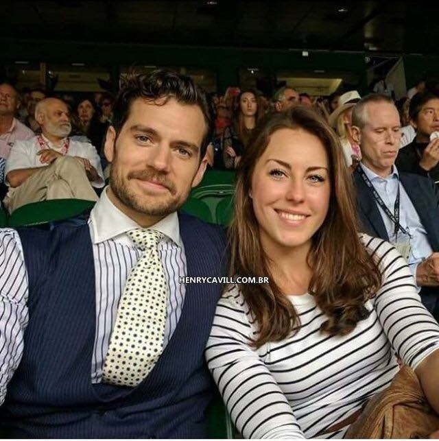 Henry cavill and girlfriend Lucy cork
