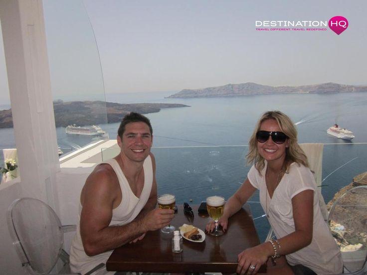 Honeymoon in beautiful Santorini
