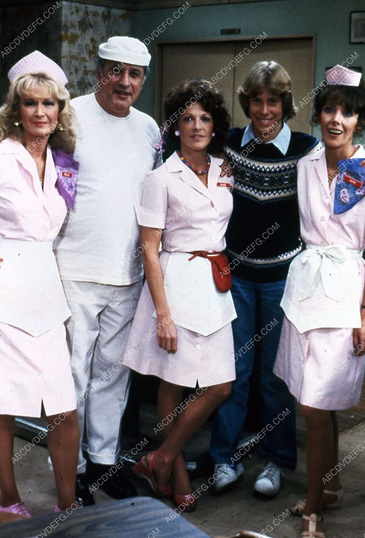 Linda Lavin Beth Howland Vic Tayback Philip McKeon Celia Weston TV Alice 35m-5803