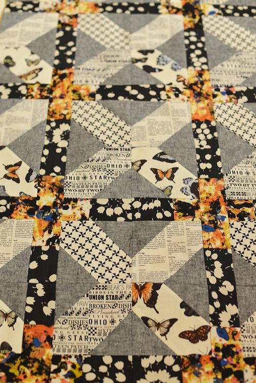 Japanese x and + Quilt Modern Handcraft #quilt #xplusalong
