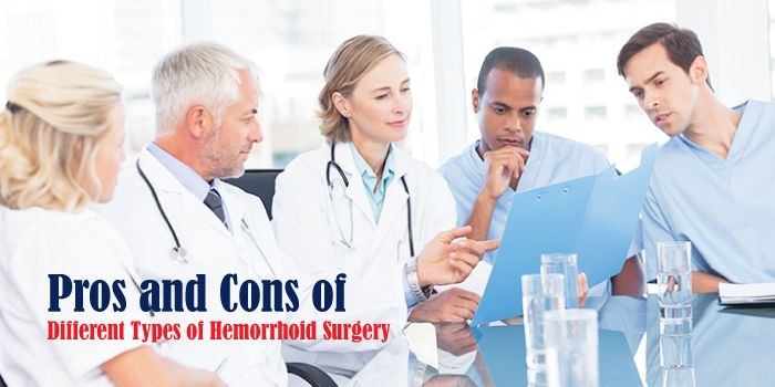 Pros and Cons of Different Types of Hemorrhoid Surgery
