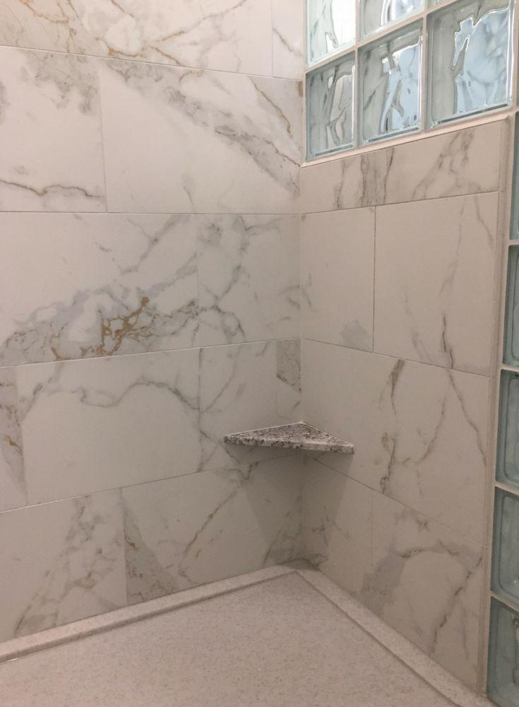 Best 25 bathroom tile walls ideas on pinterest tiled for Large format glass tile