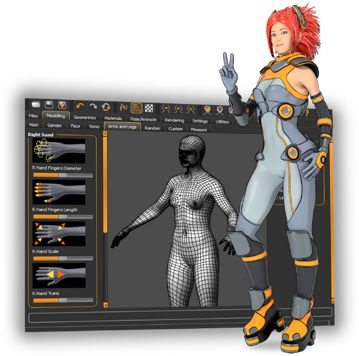 MakeHuman the free and open source software to create realistic 3d humans