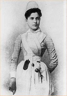 Linda Richards the first professionally trained nurse to graduate in the USA.