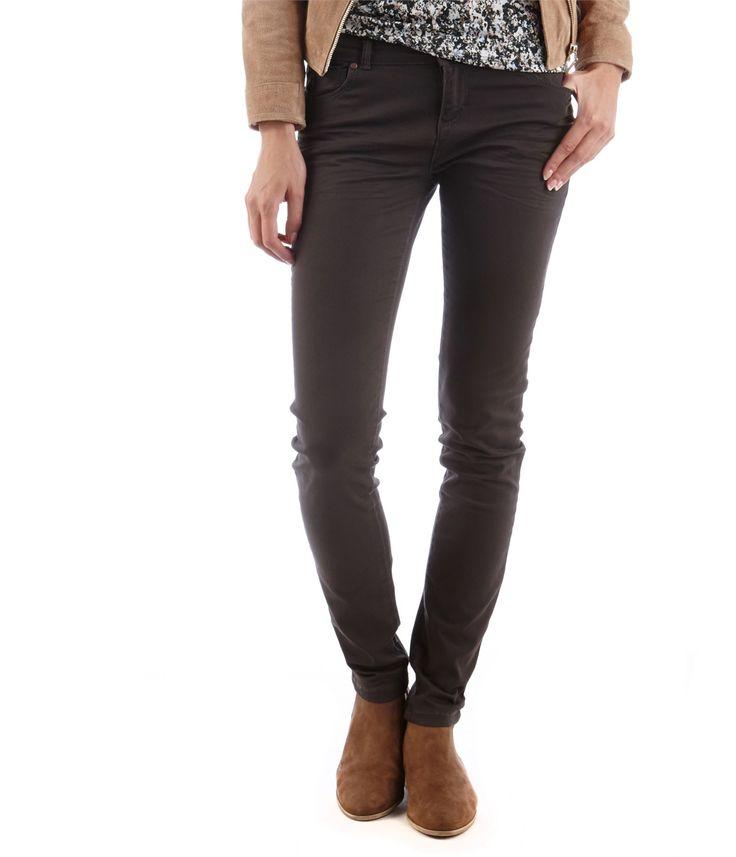 CAMAIEU – Pantalon slim femme 5 poches