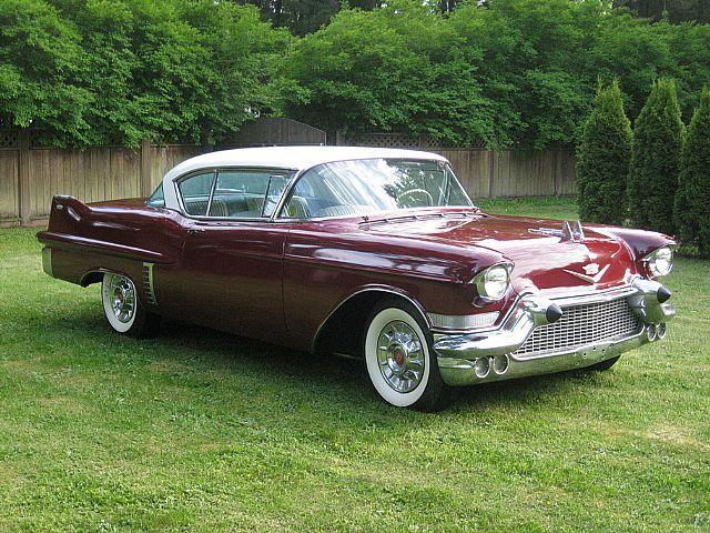 1957 Cadillac Coupe DeVille.