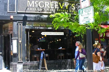 Where to find the best Boston Irish pubs, bars, clubs, and restaurants to enjoy Irish music, food, Guinness, dancing, and St Patricks Day events.