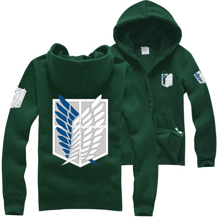 Attack on Titan Hoodie //Price: $39.95 & FREE Shipping //