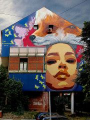 TKV · Pijanista (Walls of Belgrade) Tags: belgrade beograd novibeograd streetart serbia spraypaint wall stencil graffiti mural tkv pijanista