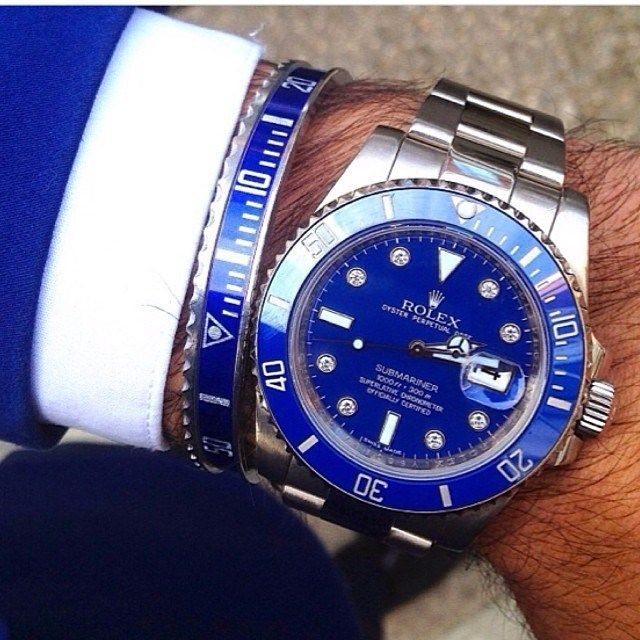 Rolex horloge – Ill be able to grace my man's wrist with one of these one day!