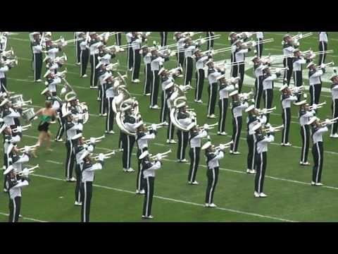 MSU Marching Band Entrance - MSU vs. UM 2011
