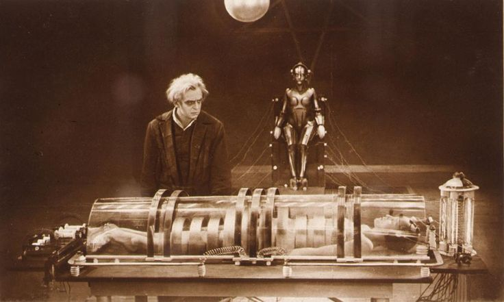 Metropolis, 1927, Germany,  directed by Fritz Lang