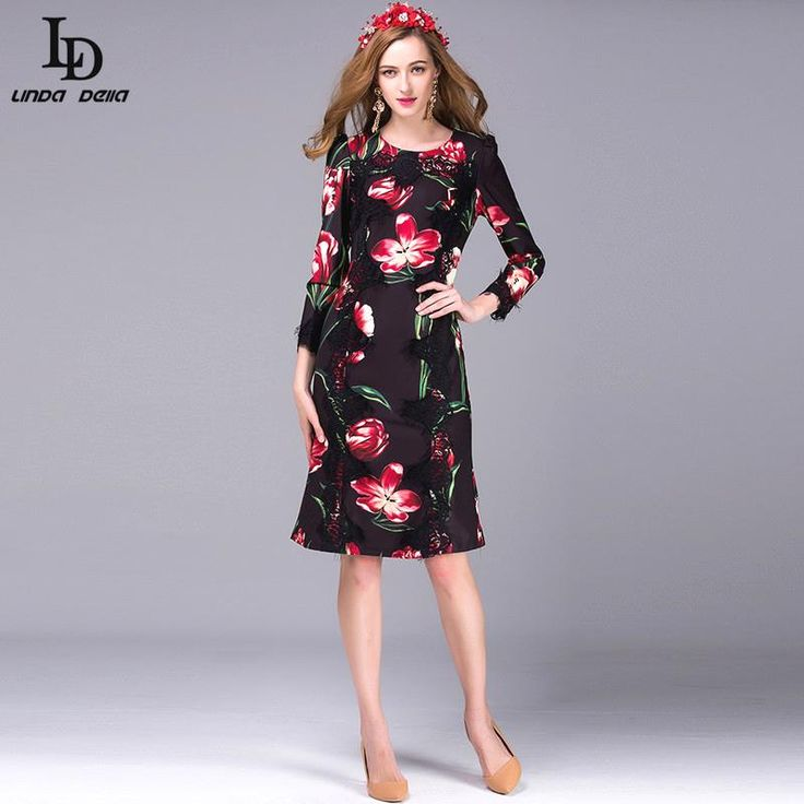 Runway Maxi Dress Autumn Winter Women Floor Length Embroidery Long Dress Like if you are Excited! www.storeglum.com... #shop #beauty #Woman's fashion #Products