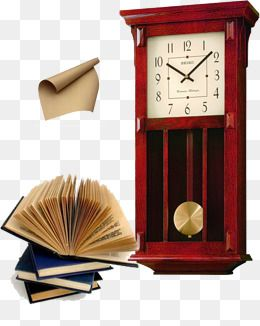 Reloj de pendulo Creative roll Libros