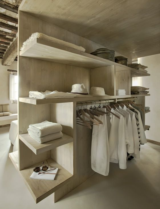 Closet with great lines