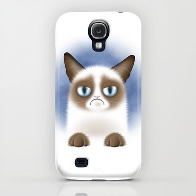 Grumpy Cat on Samsung Galaxy S4 case $35.00