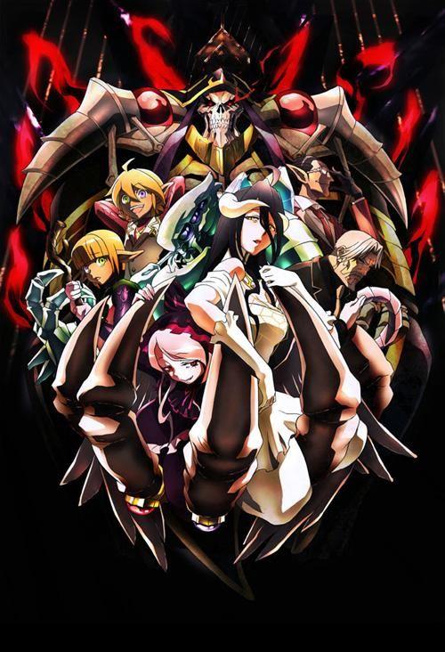 """Overlord"" TV animation key visual #overlord_anime"