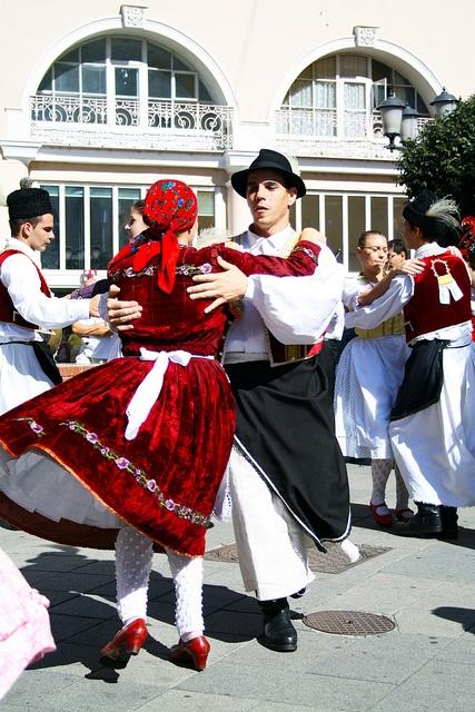 Hungary, Győr, nép tánc cultural dancing