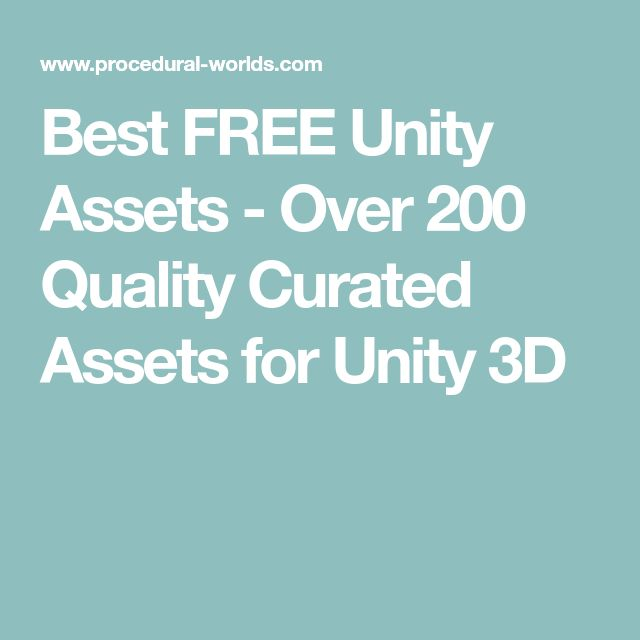 Best FREE Unity Assets - Over 200 Quality Curated Assets for Unity 3D