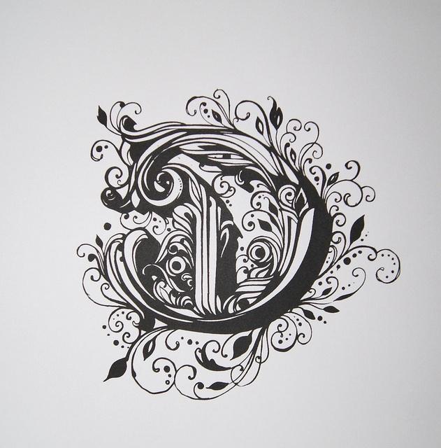 Reyes Black Letter Type Set series. #letter #handlettering #type #font