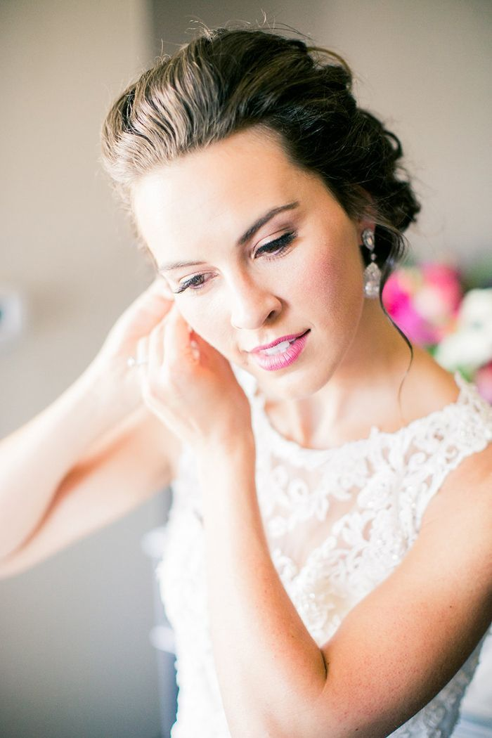 Romantic Glam Bridal Makeup