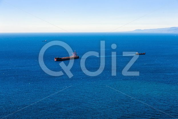 Qdiz Stock Photos   Container cargo ship and vessels in ocean,  #Atlantic #blue #boat #cargo #commerce #commercial #container #delivery #empty #freight #industrial #industry #international #landscape #logistics #marine #moving #nautical #ocean #offshore #sea #ship #shipping #tanker #transport #transportation #vessel #water #waterline