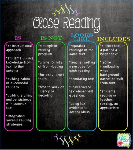 Close listening lays the foundation for close reading. Try close listening even with upper grades before moving on to close reading.