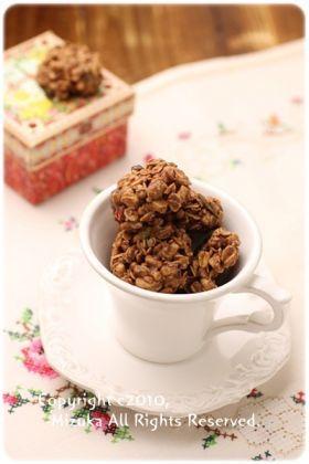 「溶かして混ぜるだけ♪チョコフレーク」Mizuka | お菓子・パンのレシピや作り方【corecle*コレクル】