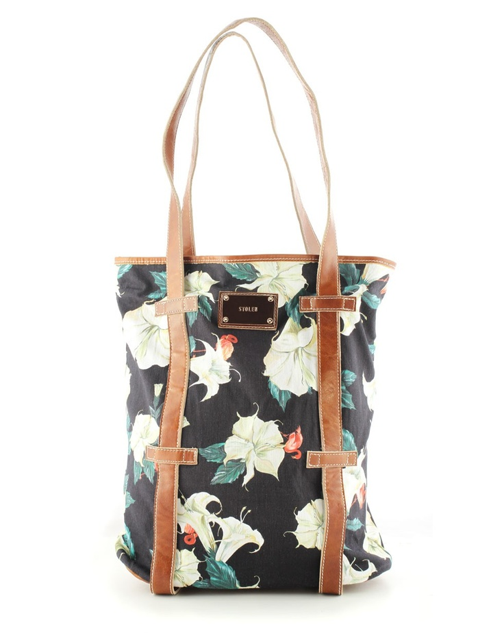 Day Party Bag in Datura Print - What's New